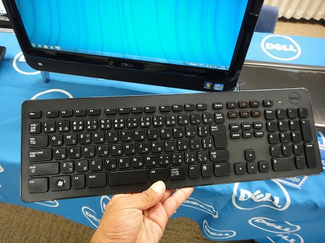 dell Inspiron One 2320ワイヤレスキーボード