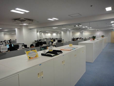 宮崎カスタマーセンター内部