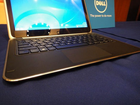 dell XPS 12キーボード