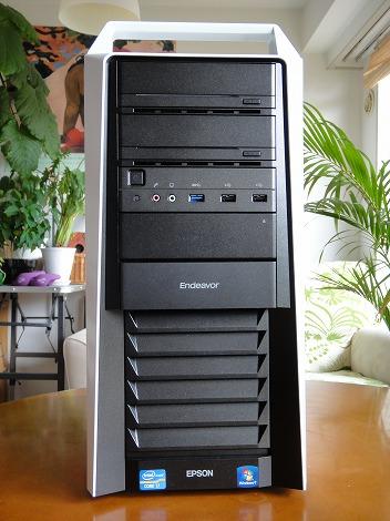 EPSON Pro5000 前面部
