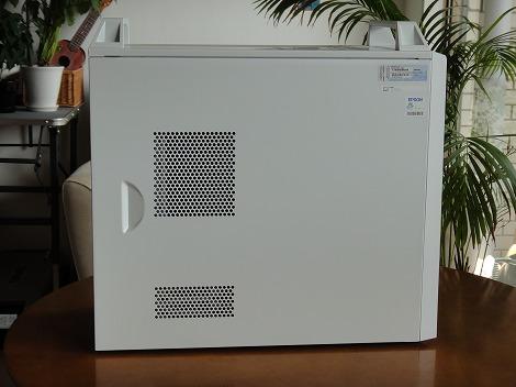 EPSON Pro5000 左側面部