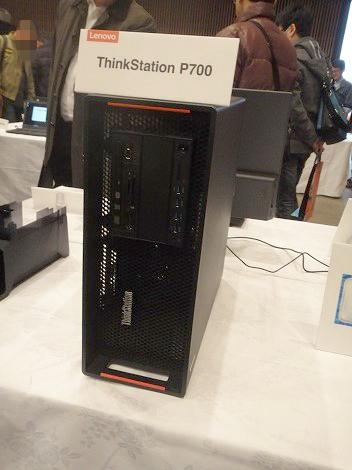 ThinkStation P700レビュー