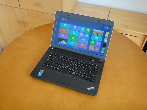 レノボ ThinkPad E440 レビュー