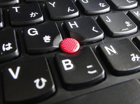 レノボ ThinkPad T430s トラックポイント