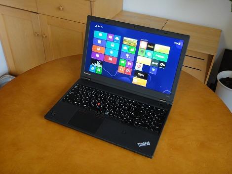 レノボ ThinkPad T440p レビュー