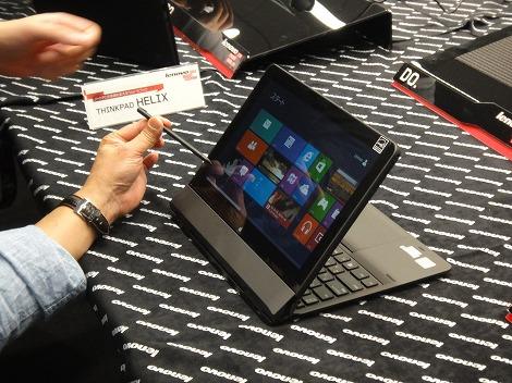 レノボ ThinkPad Helix レビュー